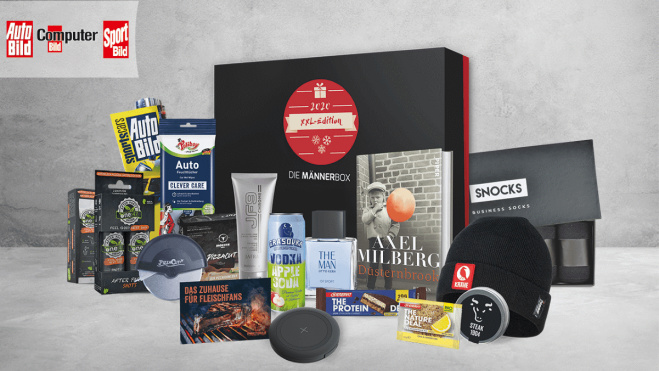 Männerbox XXL-Edition 2020 mit Bild©COMPUTER BILD, Adobe Stock/gudrun