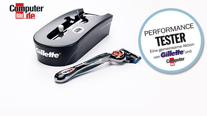 Performance-Test Gillette-Box©Gillette, COMPUTER BILD