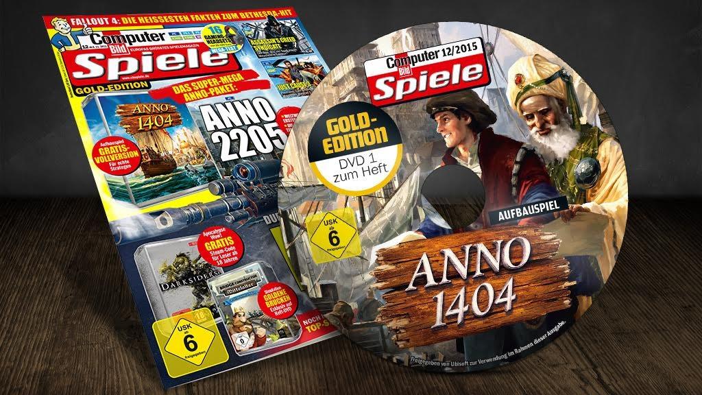 COMPUTER BILD SPIELE 12/2015: Cover©COMPUTER BILD DIGITAL GmbH