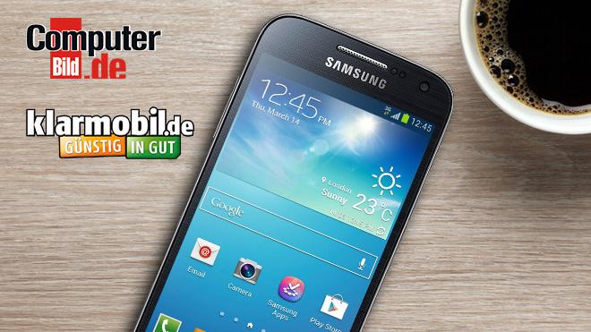 Samsung Galaxy S4 Mini Günstig Mit Flat Computer Bild