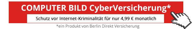 CyberVersicherung©COMPUTER BILD