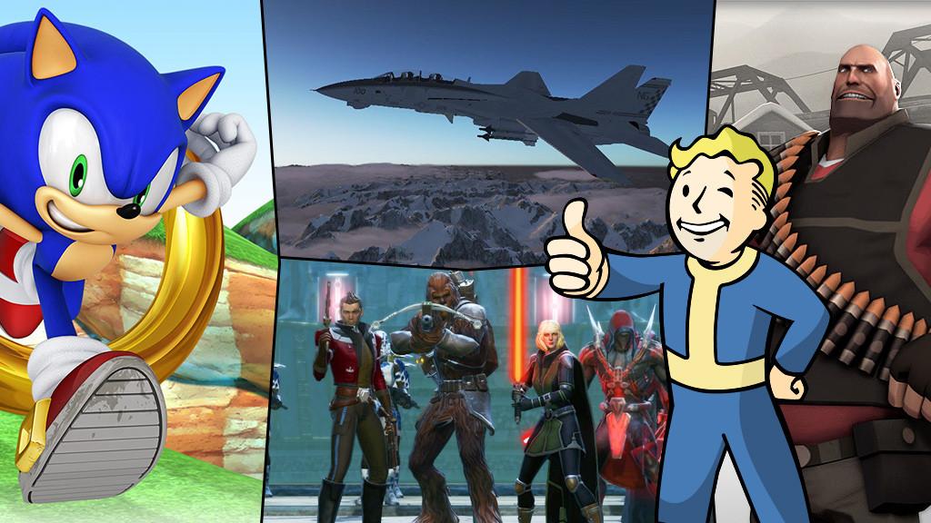 Free-to-Play©EA, Brickforce, Warner Bros., Wargaming, Raceroom, Ubisoft, COMPUTER BILD, eugenesergeev - Fotolia.com