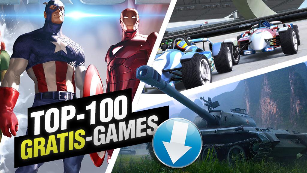 250 Gratis-Games©Computer Bild